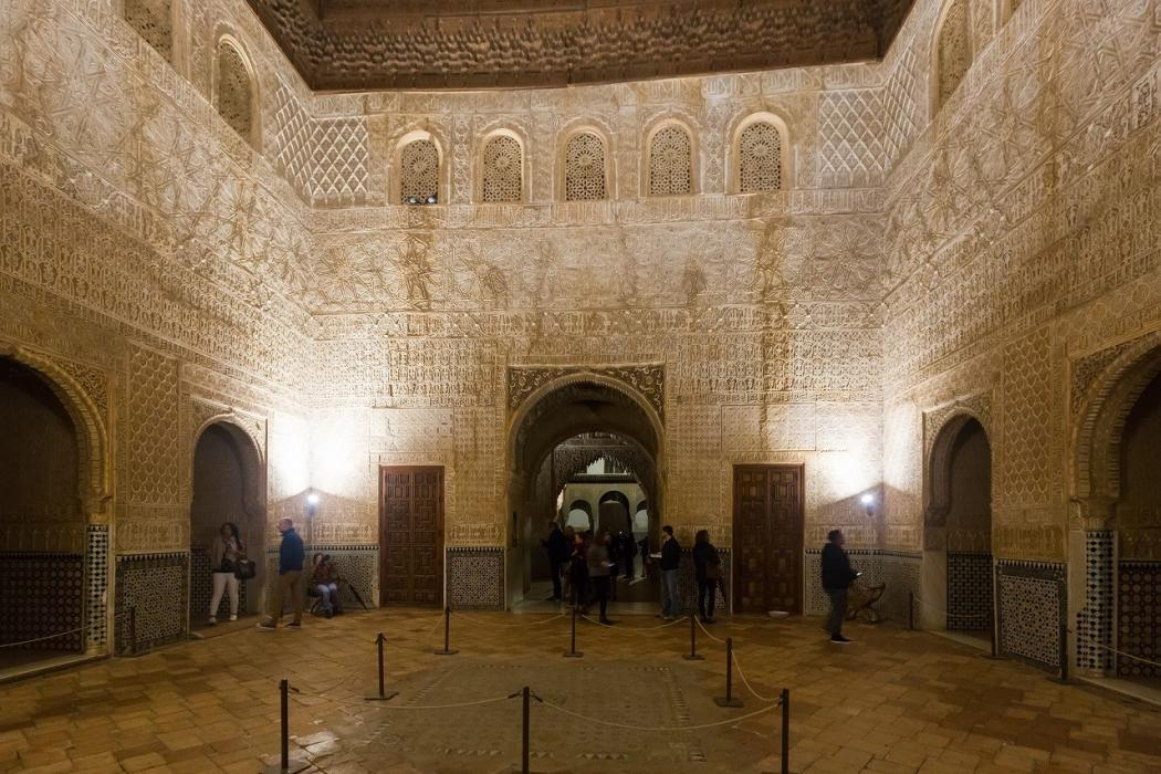 entrada nocturna palacios nazaries